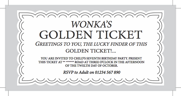 WillyWonkaGoldenTicketPrintablePartyInvitejpg – Ticket Template for Pages