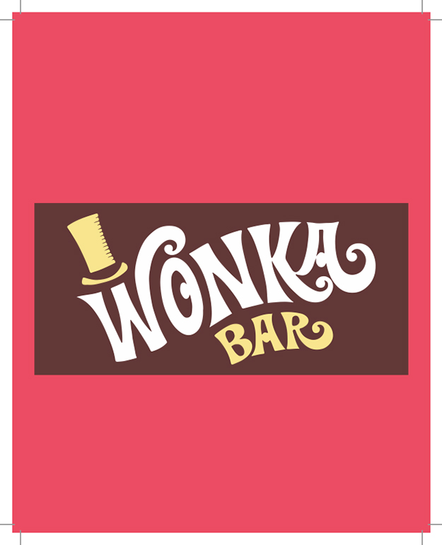 Willy Wonka Chocolate Bar Party Invite - James Forward Design