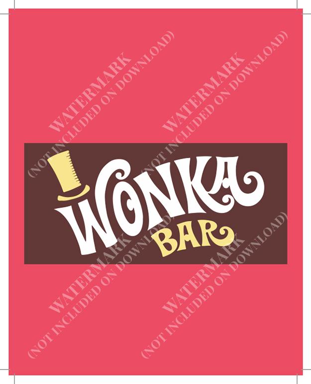 Willy Wonka Chocolate Bar Party Invite James Forward Design